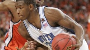 Rashad McCants during North Carolina's 2005 NCAA championship season.