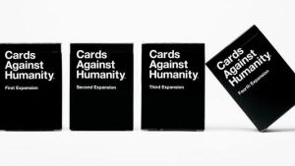 Cards Against Humanity, a hysterical – and R-rated – party game is available for $25 at cardsagainsthumanity.com. (Photo: Brent Knepper)