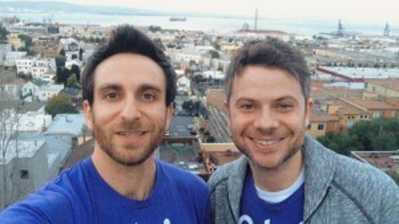 Left to right: Trio founders Misha Leybovich (CEO) and Clay Garret (CTO) (Photo by Misha Leybovich/Sandbox News)