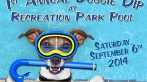 Pooch and parent can jump in the pool Sept. 6.
