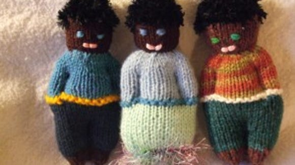 I made these dolls for orphans in Haiti in 2010.
