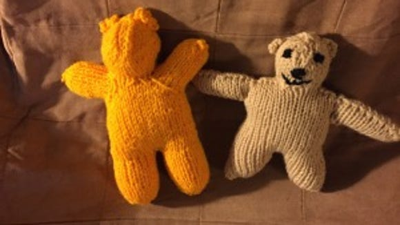 """The two """"two-hour bears"""" I made are very different."""