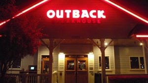 Outback Steakhouse in Southaven made the critical list.