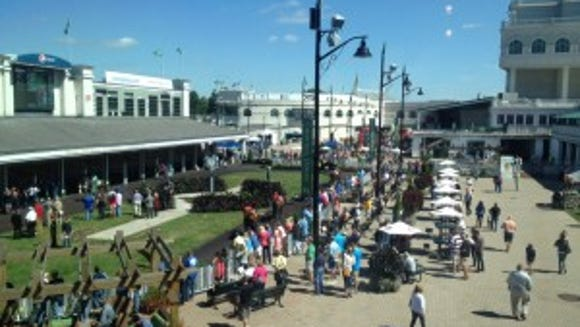 Today at Churchill Downs.