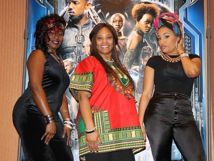 The news star thenewsstar monroe la monroes premiere of marvels black panther was a fundraiser voltagebd Gallery