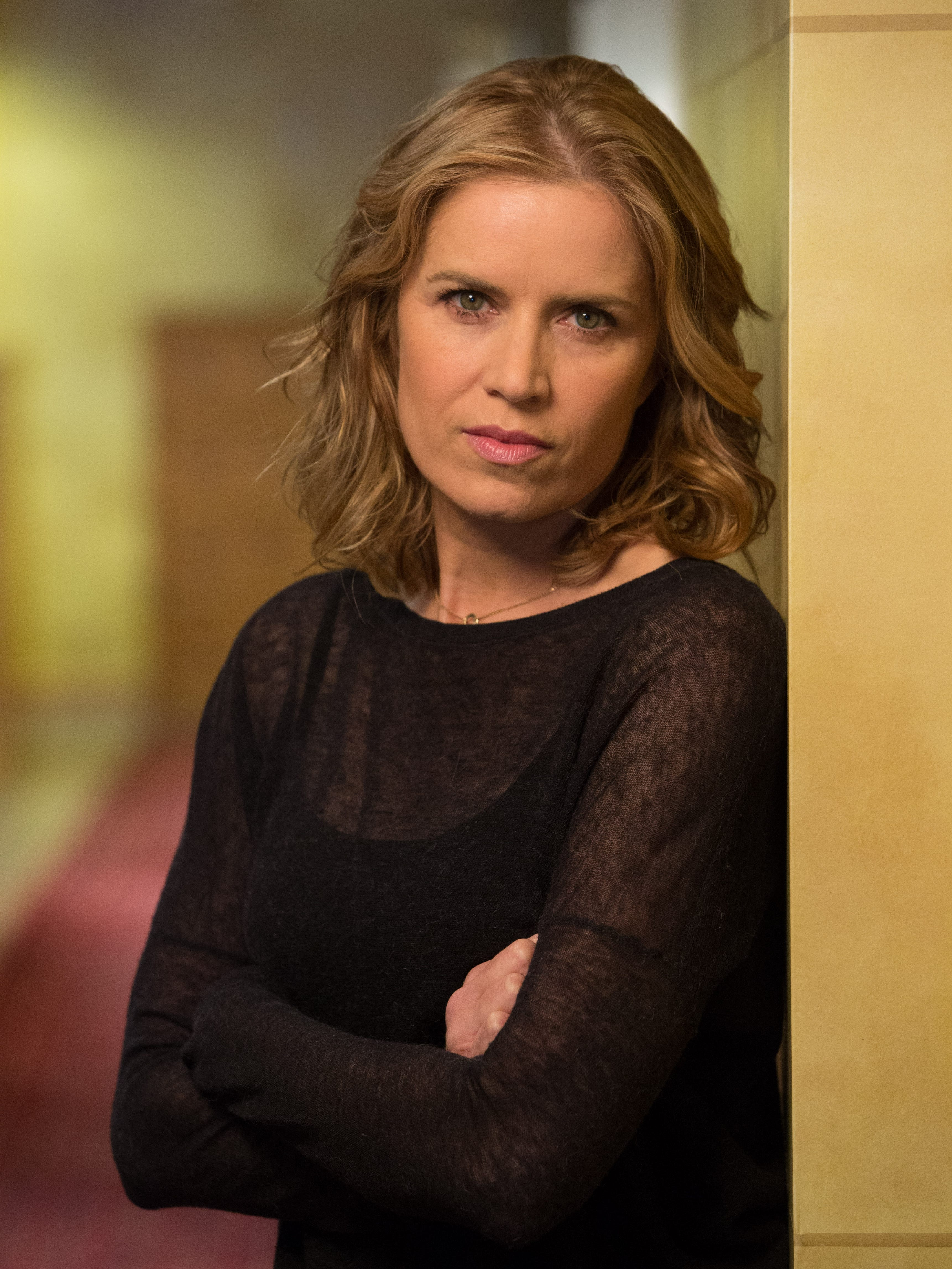 Kim Dickens Is In The House