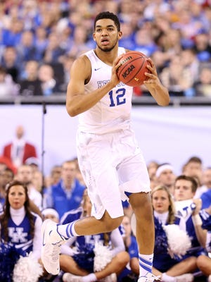 Karl-Anthony Towns, a freshman, is considered a top NBA draft pick.