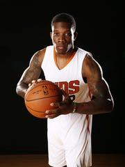 Eric Bledsoe during Phoenix Suns at media day on Sep.