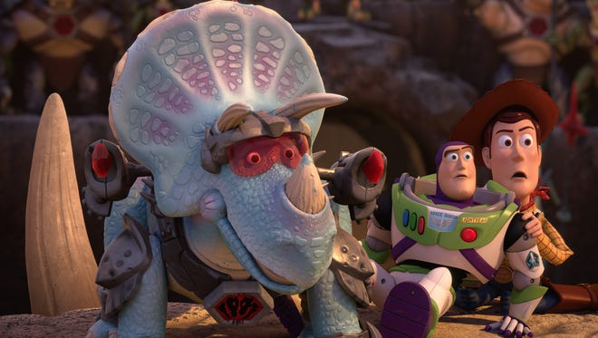 The 'Toy Story' gang find themselves in uncharted territory in 'Toy Story That Time Forgot,' airing on ABC Dec. 2.