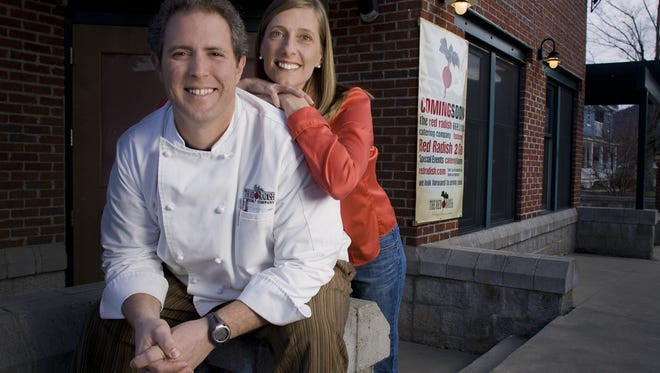 Red Radish Catering Co. owners Marcus and Melissa Duarte in 2012.
