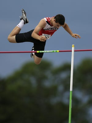 Spencer's Noah Zastrow enters this weekend as the top-qualifying individual in the Division 3 boys pole vault for the WIAA state track meet this weekend. The senior finished second in the event at state last year.