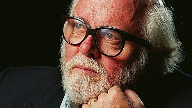 Actor/director Richard Attenborough.