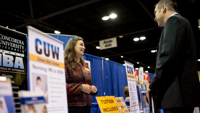 The Bay Area Career Expo has spaces available for businesses who want to meet job applicants.