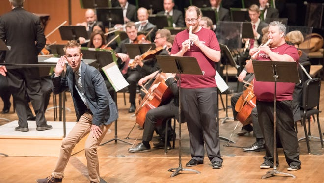 Lansing Symphony Orchestra participates in Carnegie Hall's LINK UP program which culminates in a Young People's Concert.