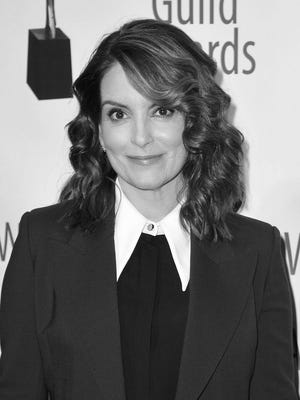 "Tina Fey was joined by other cast members for the ""30 Rock"" special on NBC."