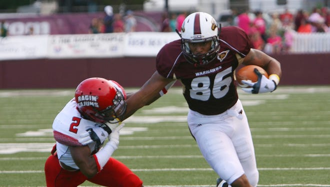 The 2012 meeting between the Warhawks and the Cajuns topped the list of the weirdest games between the two rivals.