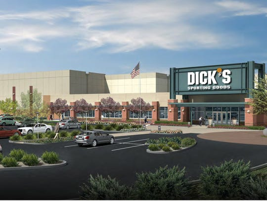 An artist's rendering of the Dick's Sporting Goods