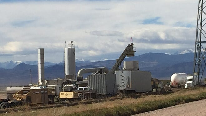 Neighbors of a temporary asphalt plant near Colorado Highway 257 and Weld County Road 80.5 are objecting to a proposal to make the facilities permanent.