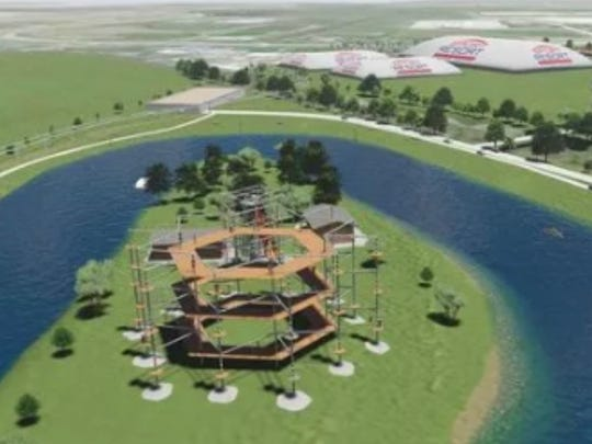 The Catalyst Lifestyles sports complex included plans