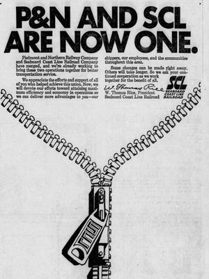 A newspaper clipping from The Greenville News on July 1, 1969.