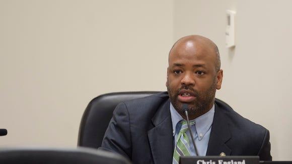 Alabama Representative Chris England, House Judiciary