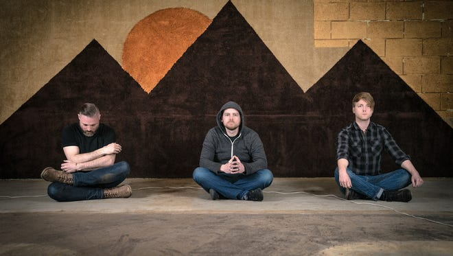 Thoughts of Ionesco, from left: Nathan Miller, Derek Grant and Sean Madigan Hoen.