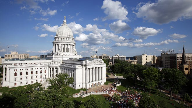 File/AP The State Capitol in Madison