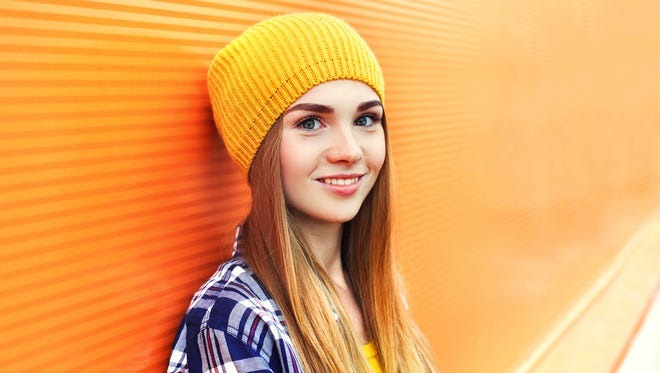 Confidence drops in girls as they reach the teen years.