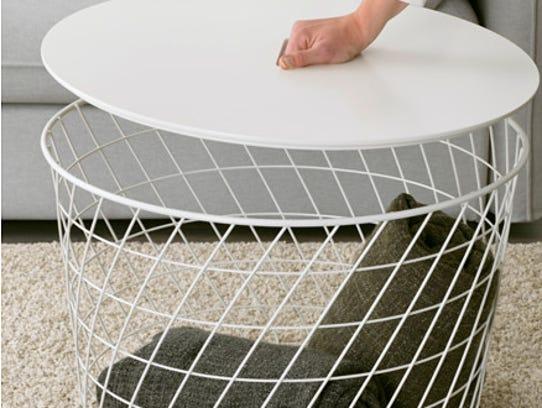 Ikea's Kvistbro storage table sells for $59.99.