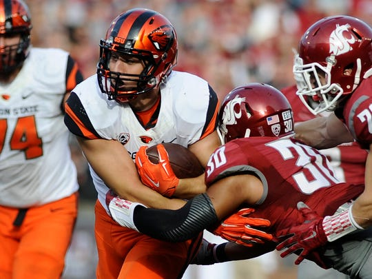 Ryan Nall was OSU's third-leading rusher last season with 455 yards, including 174 yards in the Civil War.