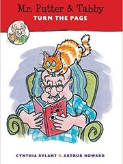 'Mr. Putter and Tabby Turn the Page' by Cynthia Rylant