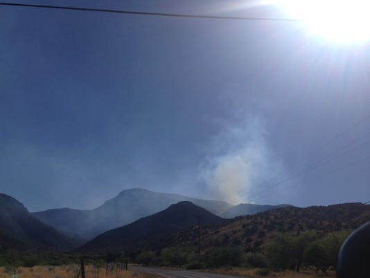 brown canyon fire