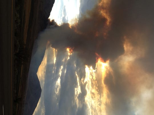 A look at the Evans Fire north of Reno