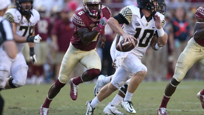 Florida State senior linebacker Matthew Thomas was the leading tackler for the Seminoles in 2016.