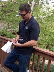 College journalist Matthew Roy, a Palm Desert and COD