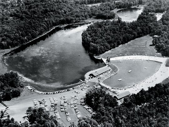 Darlington County Park, Mahwah, in 1965