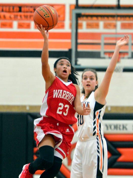 PHOTOS: York Suburban vs Susquehannock girls' basketball