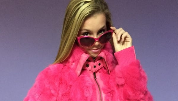 "Palm City middler schooler Emma Garner, 13, is the lead actress in StarStruck Theatre's ""Legally Blonde, The Musical, Jr."""