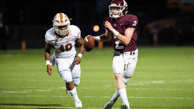 Austin High quarterback Charles Wright, an Iowa State pledge, enters his third year as the Maroons' starter.