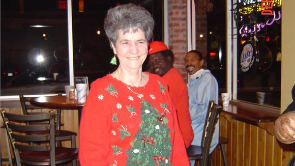 Longtime Dwyer's waitress Loula Mae Landry died Monday at the age of 82. This undated photo of Landry was taken about 10 years ago.