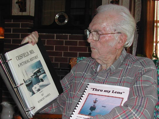 The late Scorchy Tawes, a longtime features and outdoors