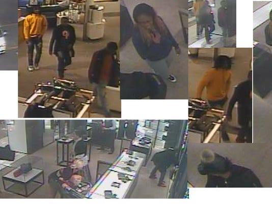 5fb844b76297cd Watch Nashville Nordstrom $50K purse theft in broad daylight