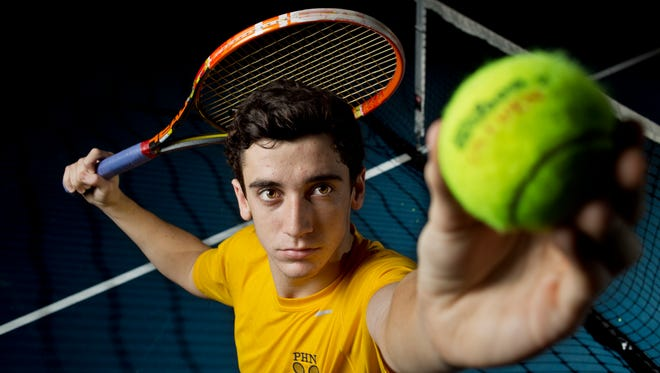 Port Huron Northern senior Franklin Brozovich is the Times Herald Tennis Player of the Year.