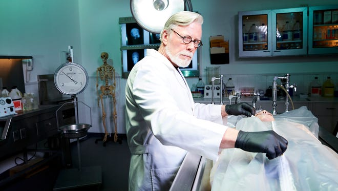 """York College grad and Dauphin County Coroner Graham Hetrick explores homicide investigations from his 25-year career in the Investigation Discovery series """"The Coroner: I Speak for the Dead."""""""