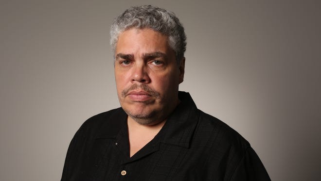 Ricky Flores, a staff visual journalist with The Journal News and lohud.com, was one of the photographers to cover Sept. 11, 2001. Here he is pictured Sept. 8, 2016.