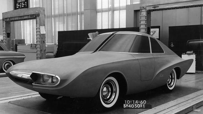 The Firefly, an all-electric 1961 concept car in  that Colin Neale helped design.