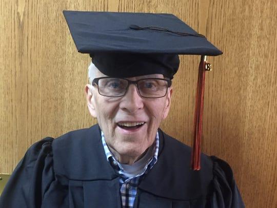 Ray Czapkowski, 83, Webster was awarded his associate