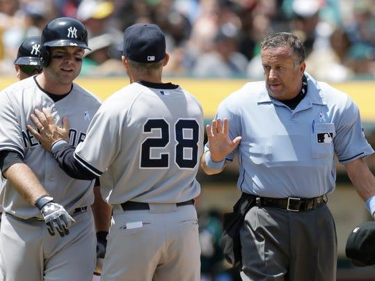 Yankees Athletics Baseball (2)