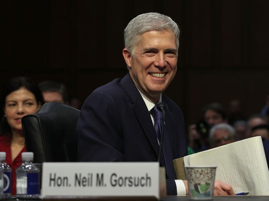 Neil Gorsuch appears before the Senate Judiciary Committee