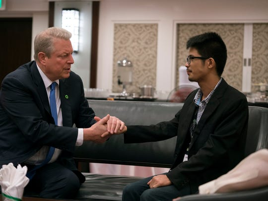 "Al Gore meets with John Leonard Chan in ""An Inconvenient"